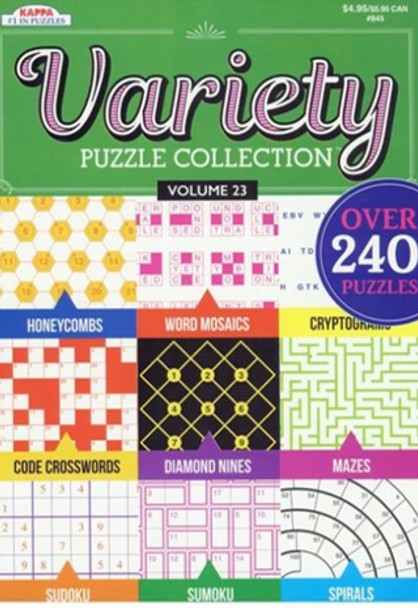 Variety Puzzle Book