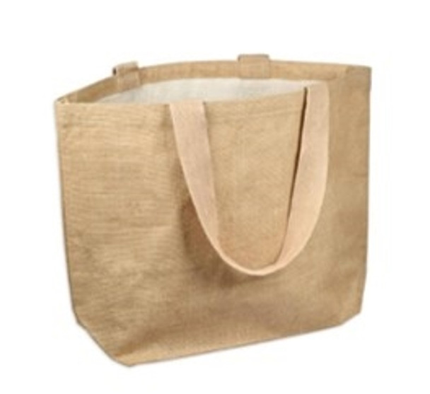 Jute Tote Bag With Lining