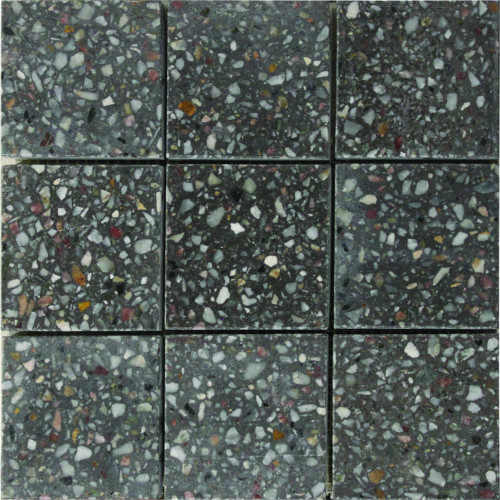 Charcoal Speckle Mosaic - Per Sheet