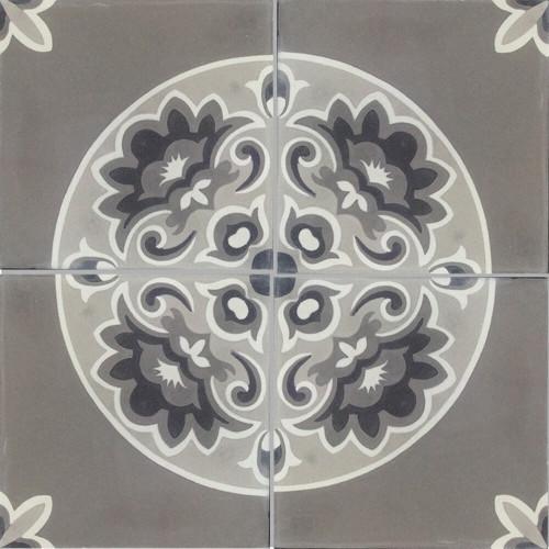 Light Grey Trevisano Finished Tile - M²