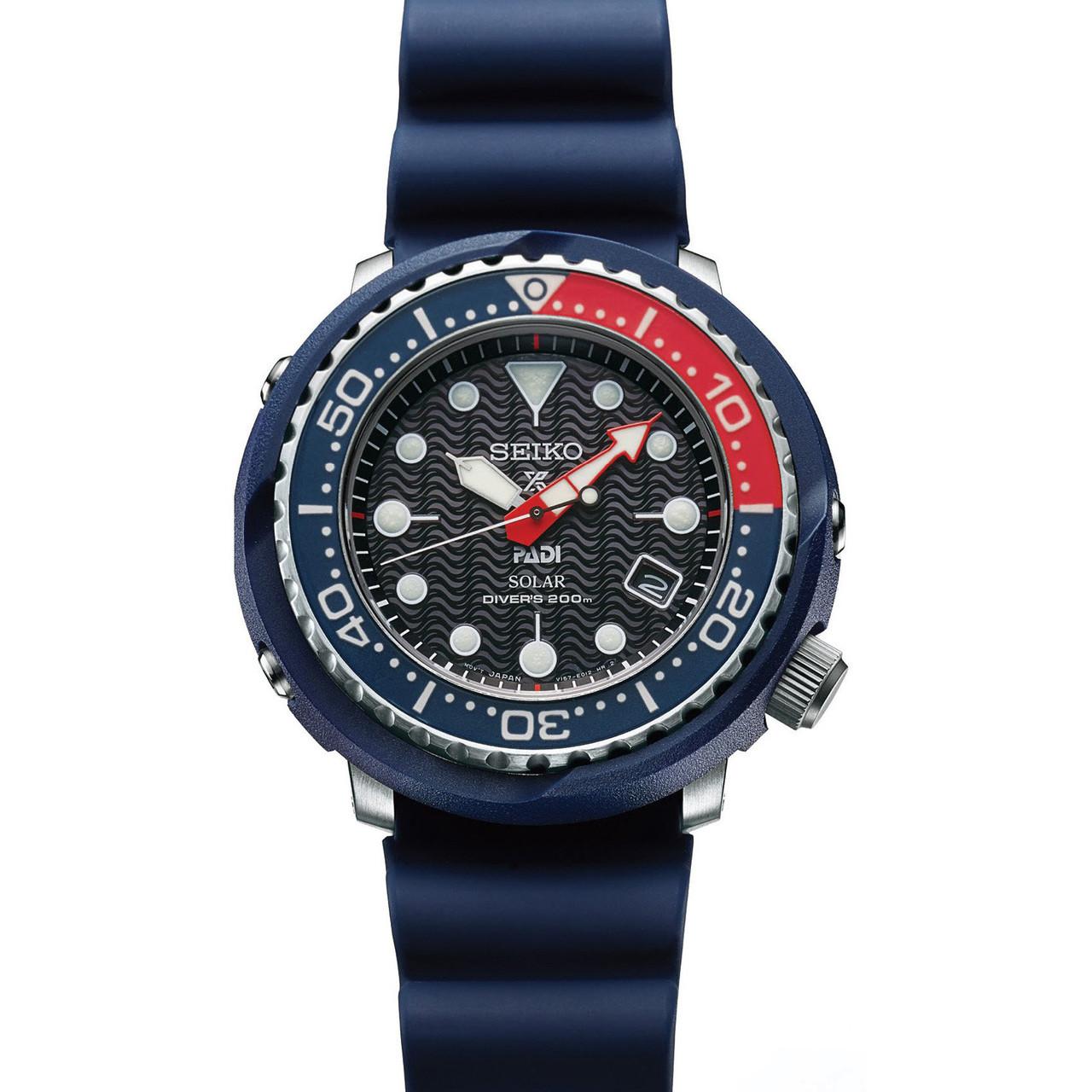 Seiko Prospex Padi Tuna Blue Watch Sne499p1 Watcho Trade