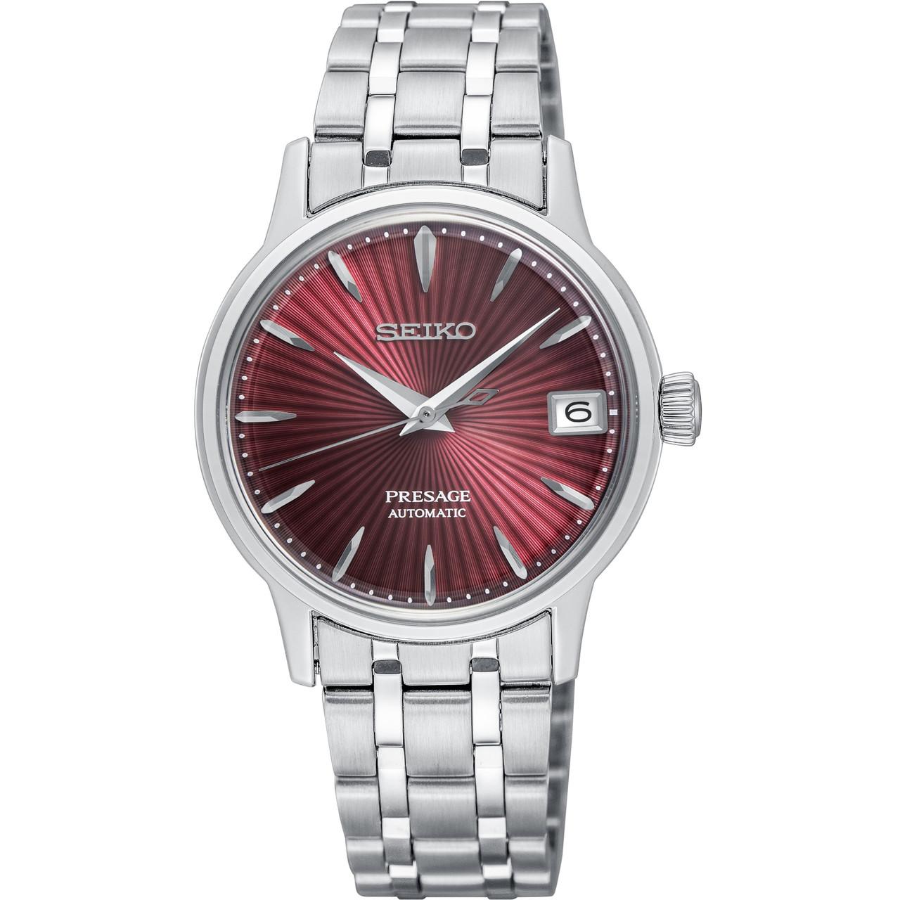 c875b9645 Seiko Presage Cocktail Time Ladies Bracelet Watch SRP853J1   WatchO™