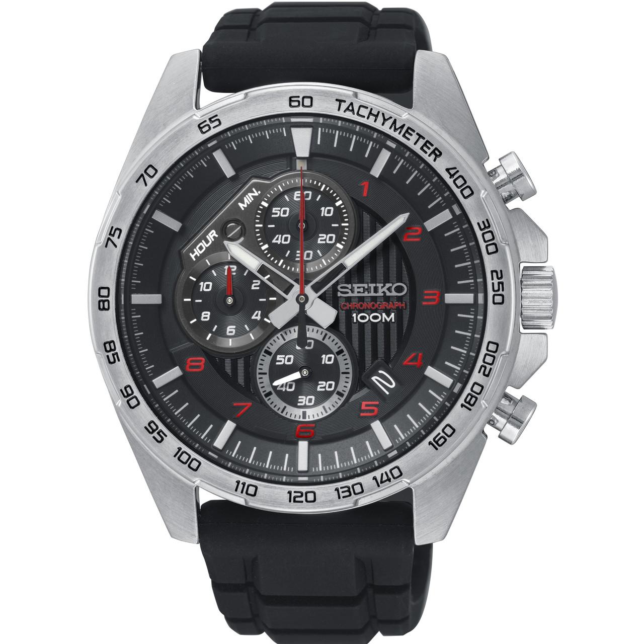 65ea40933 Seiko Motorsport Men's Chronograph Watch SSB325P1 | WatchO™