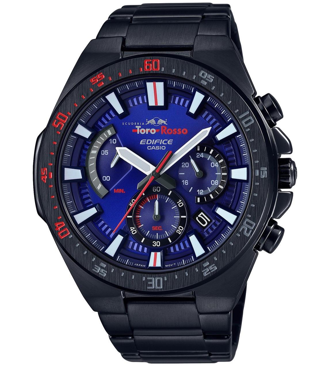 Bleu Montre Scuderia 2aer Noir Casio Edifice Homme Cadran Pour Efr Chronographe Et Toro 563tr Rosso Bracelet clF1uT3KJ