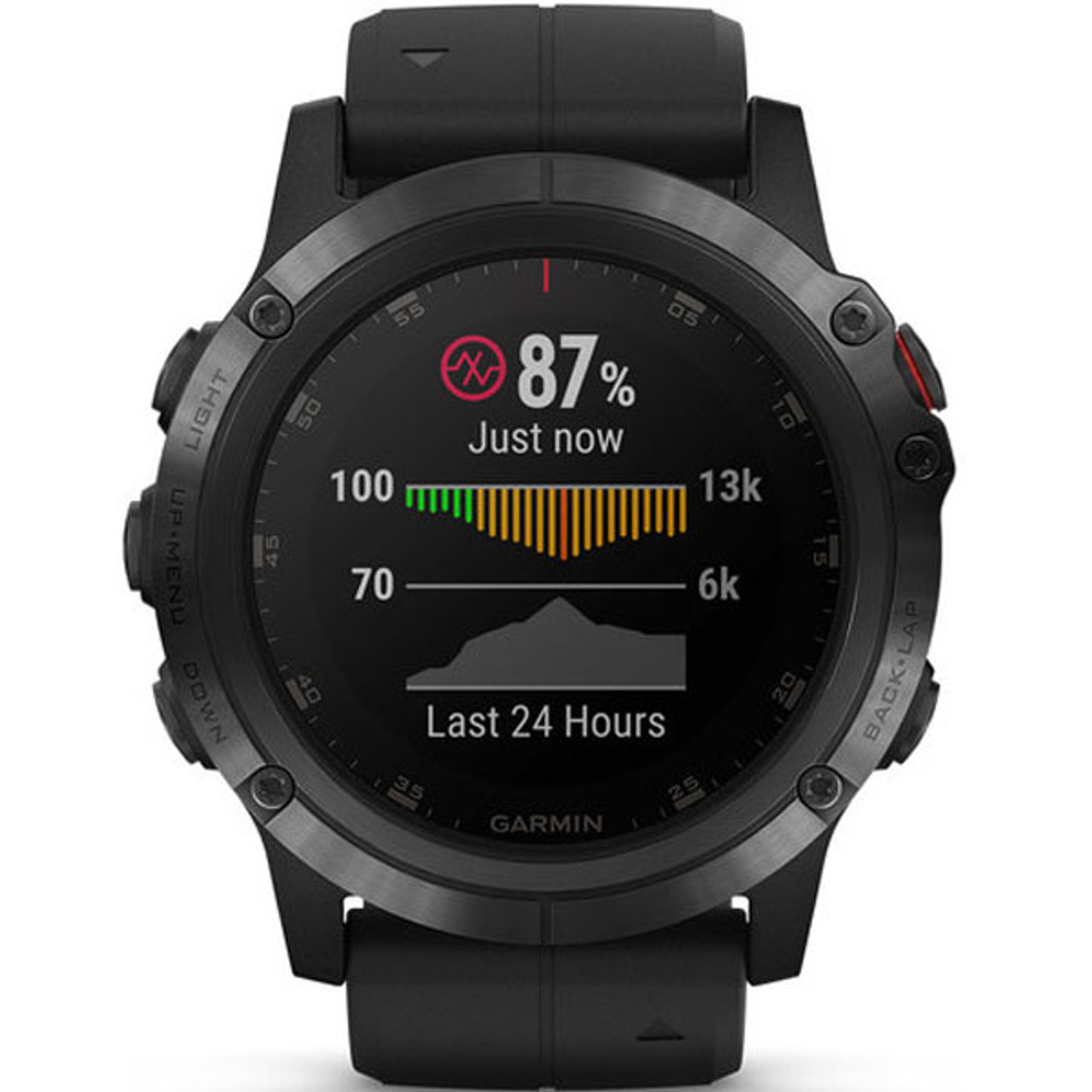 Garmin Fenix 5x Plus Sapphire Gps Black Watch 010 01989 01