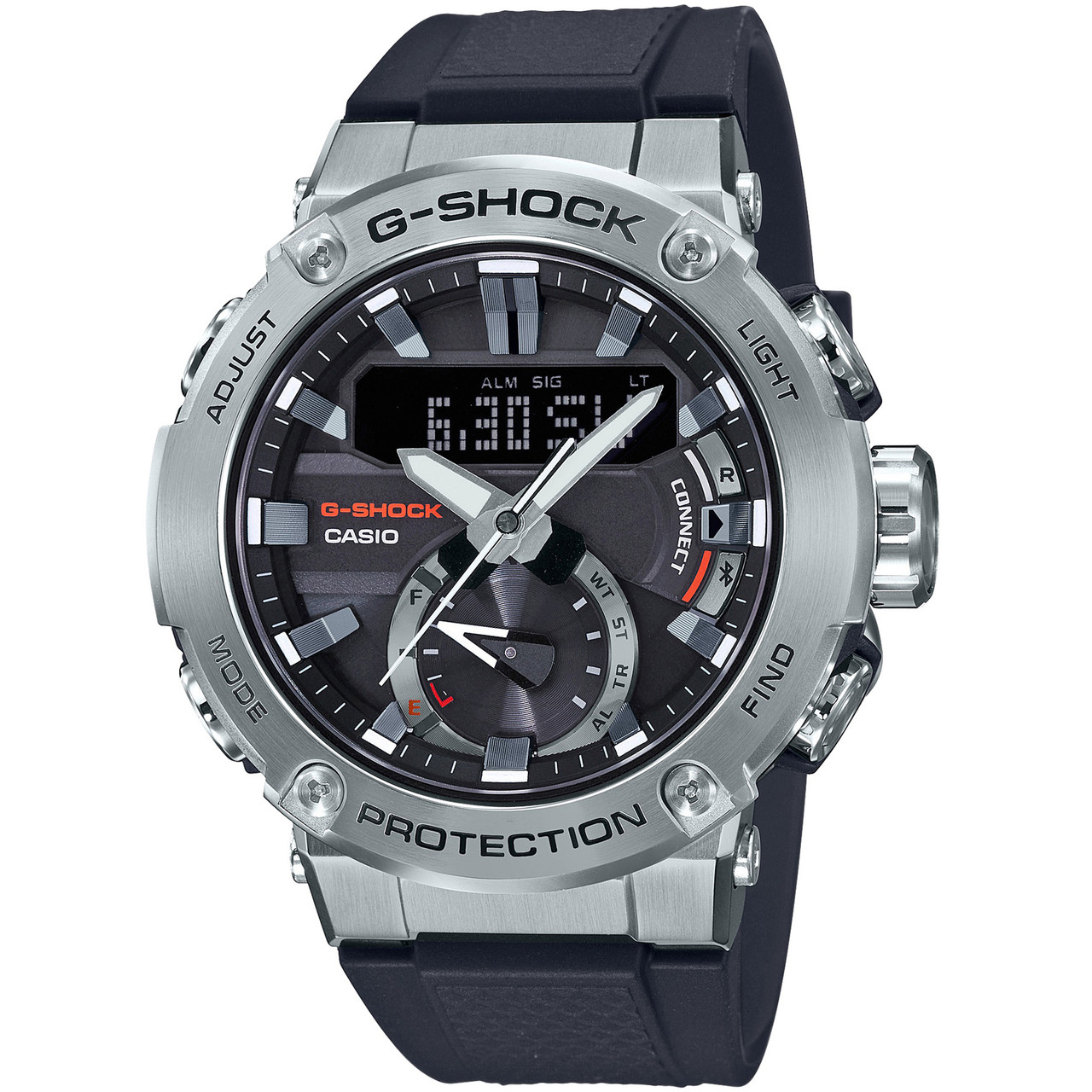 8a171be0ca Casio G-Shock Steel Bluetooth Solar Strap Watch GST-B200-1AER |  WatchO™