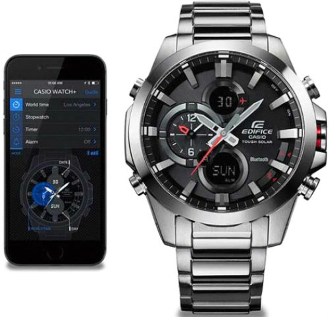 Solar Watch 500d Analogue Casio Ecb Tough Bluetooth 1aer Edifice u3TKJ5lF1c