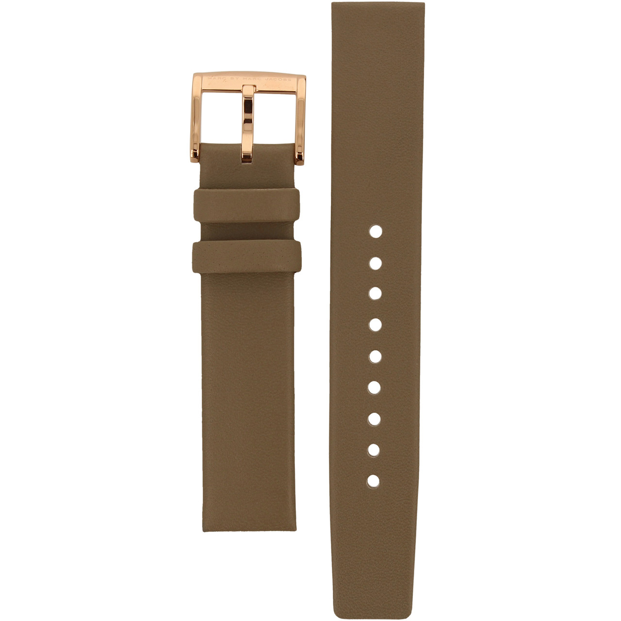 3141453c176a7 Marc Jacobs Replacement Watch Strap Grey Genuine Leather 18mm For MBM1266