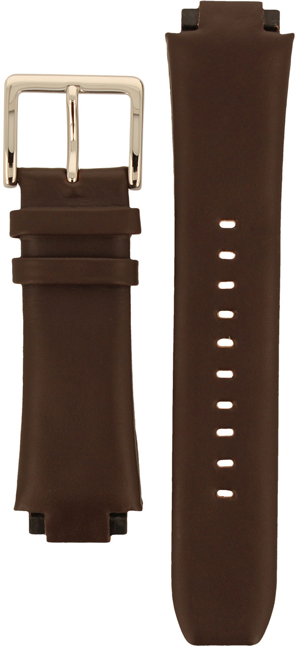 e0acfcaf7 DKNY Watch Replacement Brown Leather Strap For NY1319