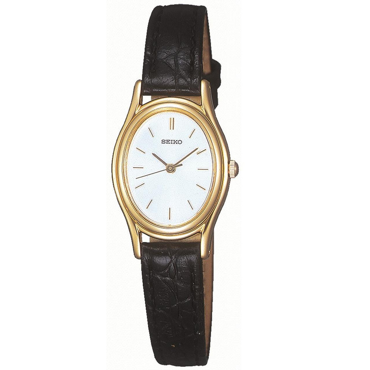 6db7282fd Seiko SXGA82 Ladie's Classic Oval Watch   WatchO™