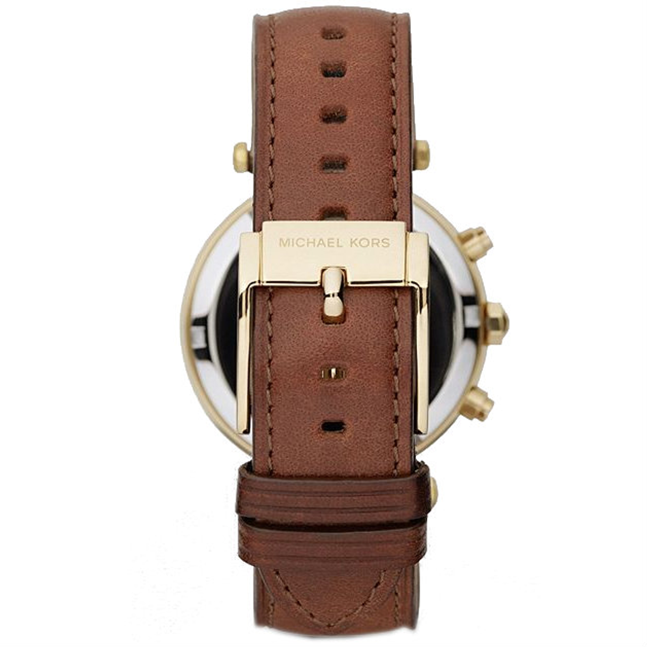 8f3e2c934 Michael Kors Replacement Watch Strap Brown Leather MK2249 With Free Pins