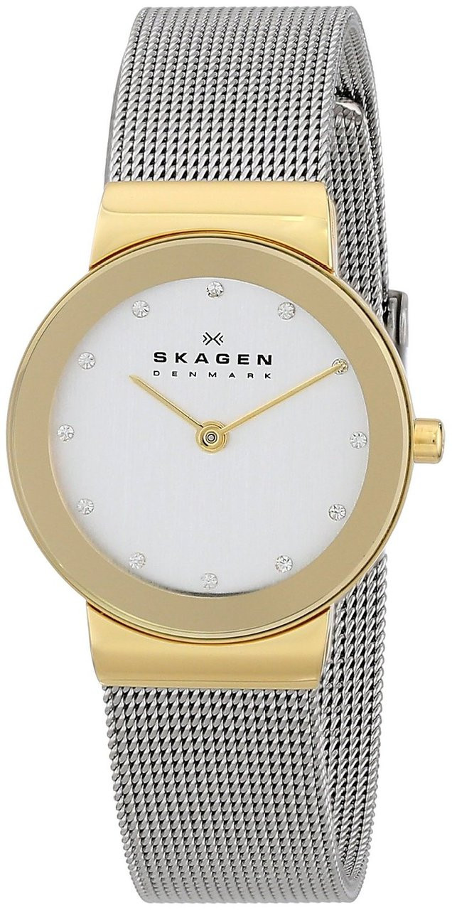 Watch Ladies Look Skagen Two WatchO co Tone 358SGSCDUnboxingClose uk xtQhrCsd