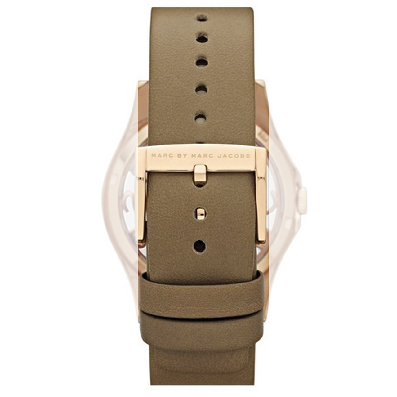 bbe636df9b1ee Marc Jacobs Genuine Replacement Watch Strap Beige Leather For ...