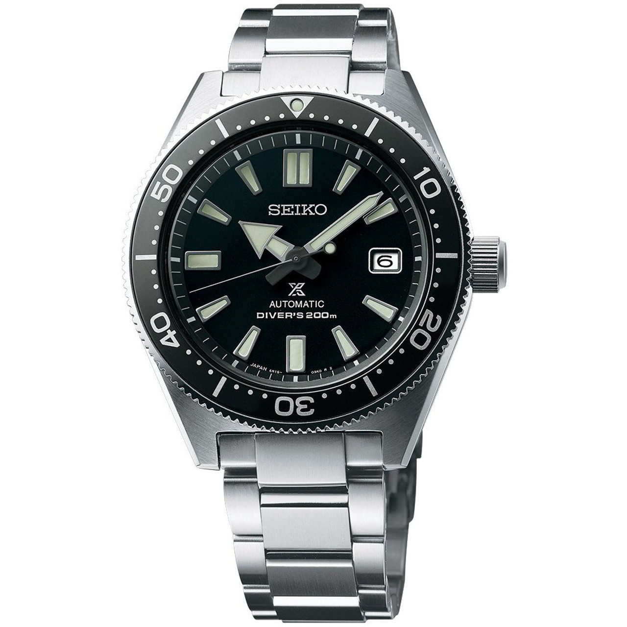 Seiko Prospex Diver S Recreation Black Dial Automatic Watch Spb051j1