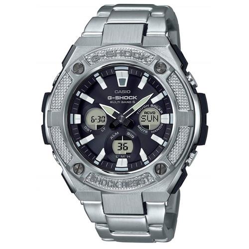 Casio G Shock Gst W130c 1aer Solar Black Strap Watch