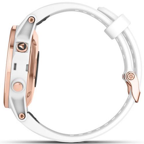 Garmin Fenix 5S Plus Sapphire GPS Multi-Sport-Sensor HR Music Rose Gold  42mm Smartwatch 010-01987-07