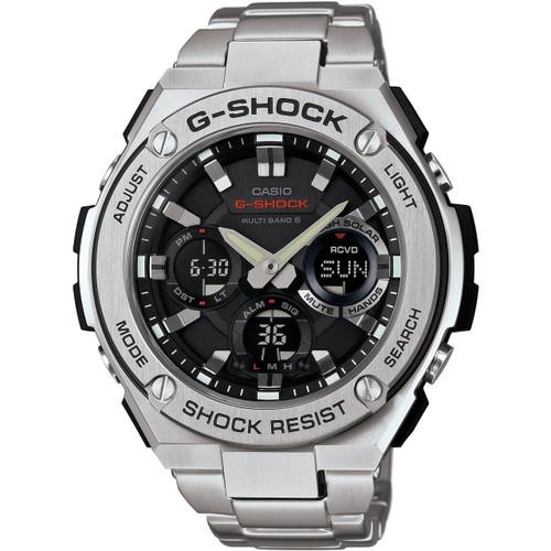 65c9233f4ec6f4 G-Shock G-Steel Radio Controlled Solar Powered Watch GST-W110D-1AER ...