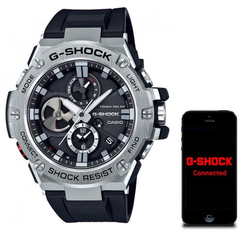 Gst B100 1aer Casio G Shock Bluetooth Stainless Steel Watch