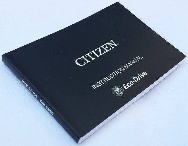 Citizen Radio Controlled Caliber E650
