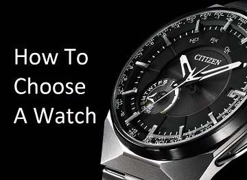 Choosing The Right Citizen Men's Watch