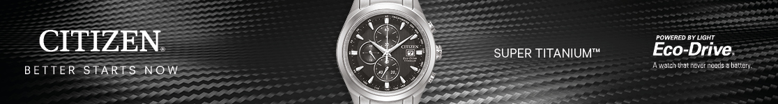 Citizen titanium watches by WatchO
