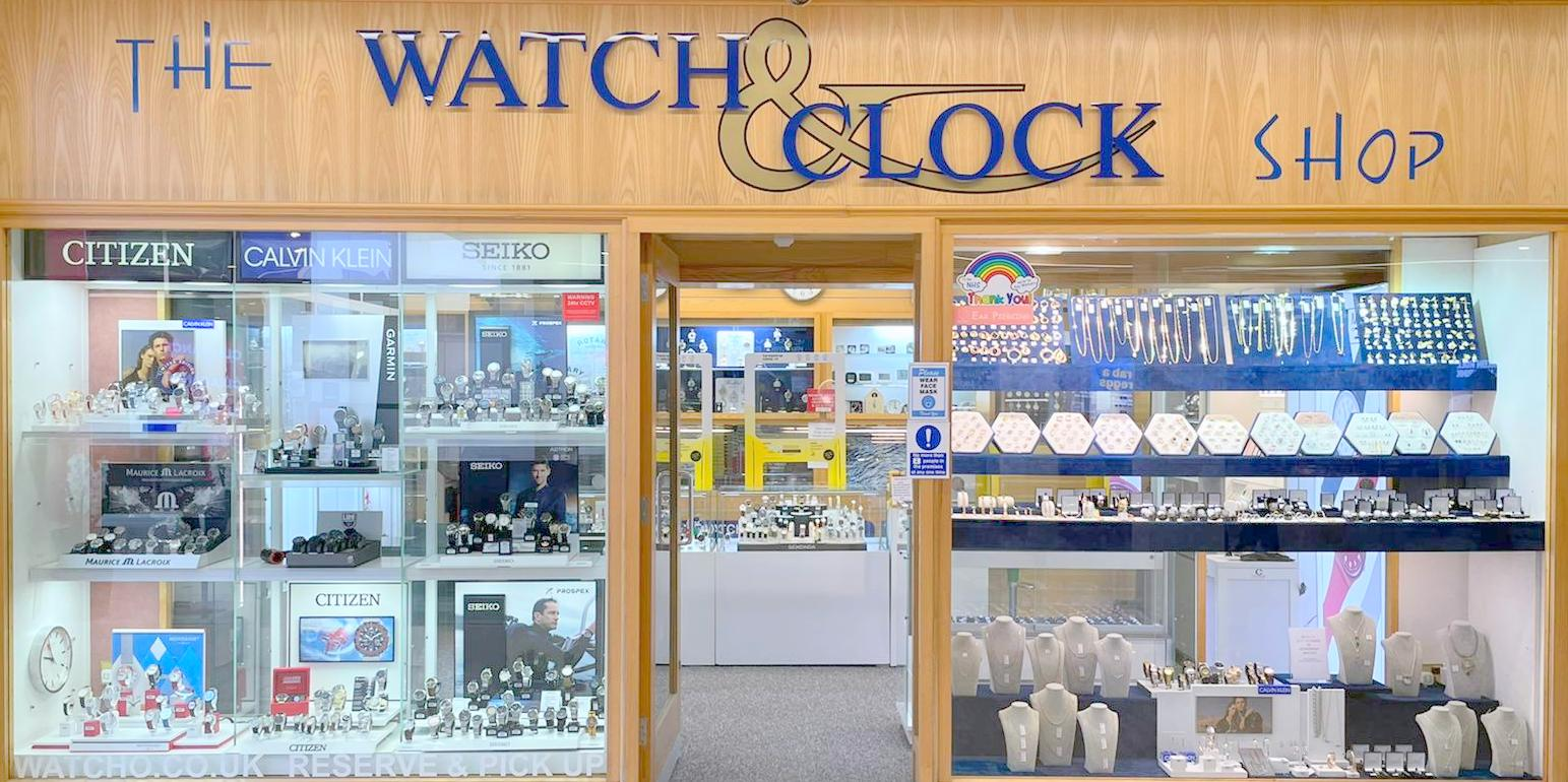 The watch and clock shop in milton keynes