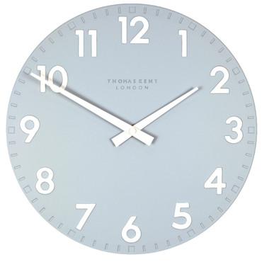 Thomas Kent Camden Designer Sea Blue Wall Clock 30 Cm