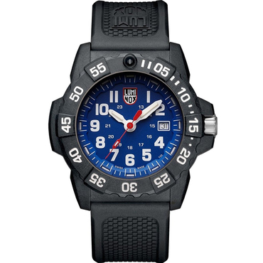 Luminox Navy Seal 3500 Series Carbon Blue Watch Xs 3503