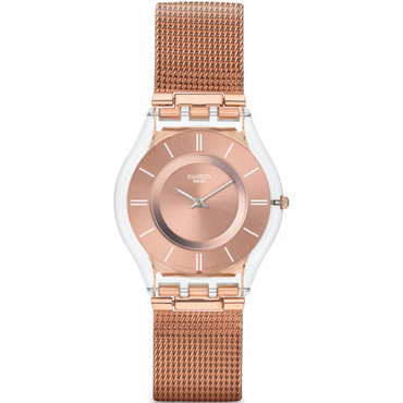 Swatch Skin Classic Hello Darling Rose Gold Dial Watch