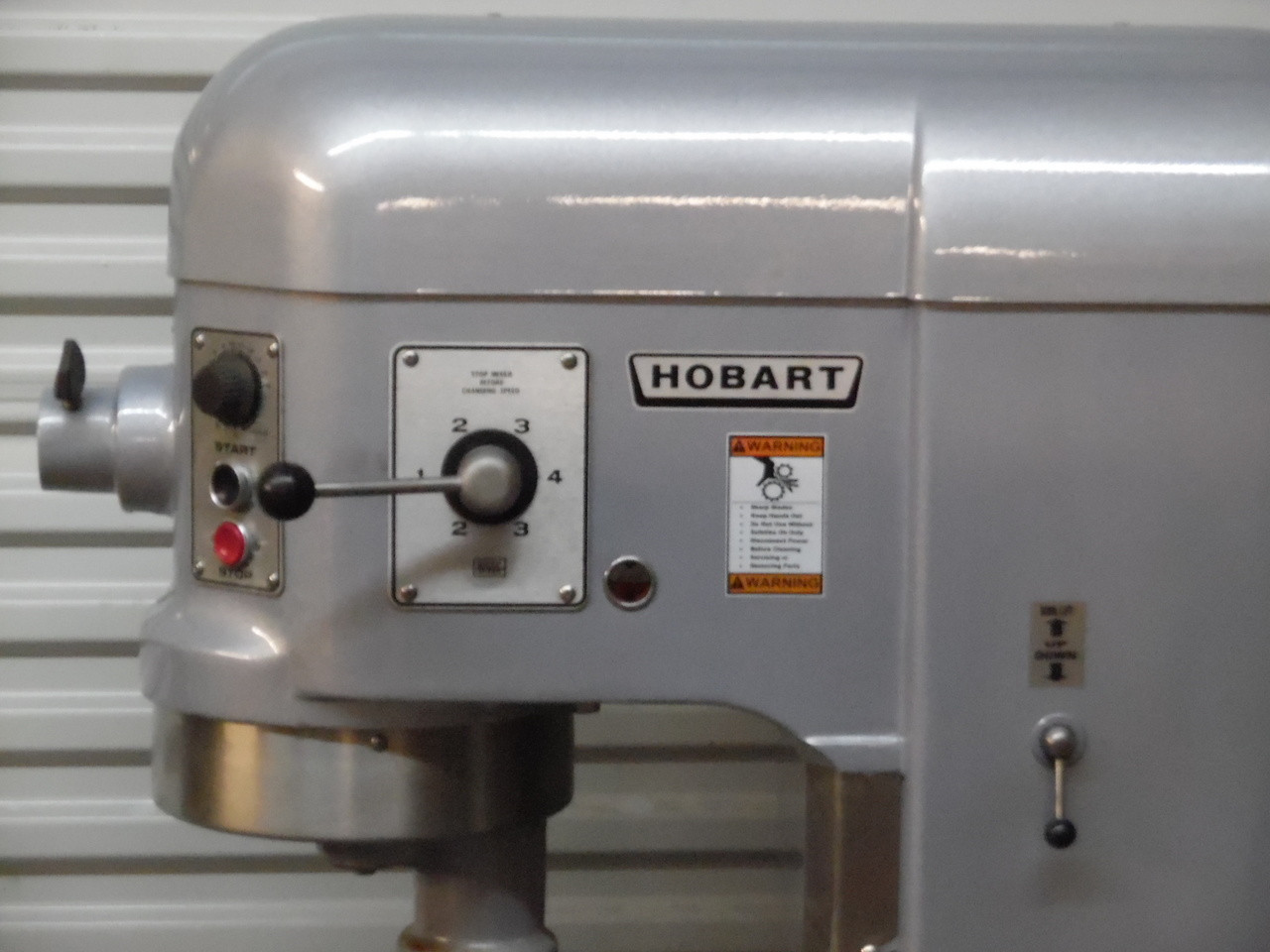 Excellent Hobart 60 Qt Dough Mixer H600T 2HP Power Bowl Lift