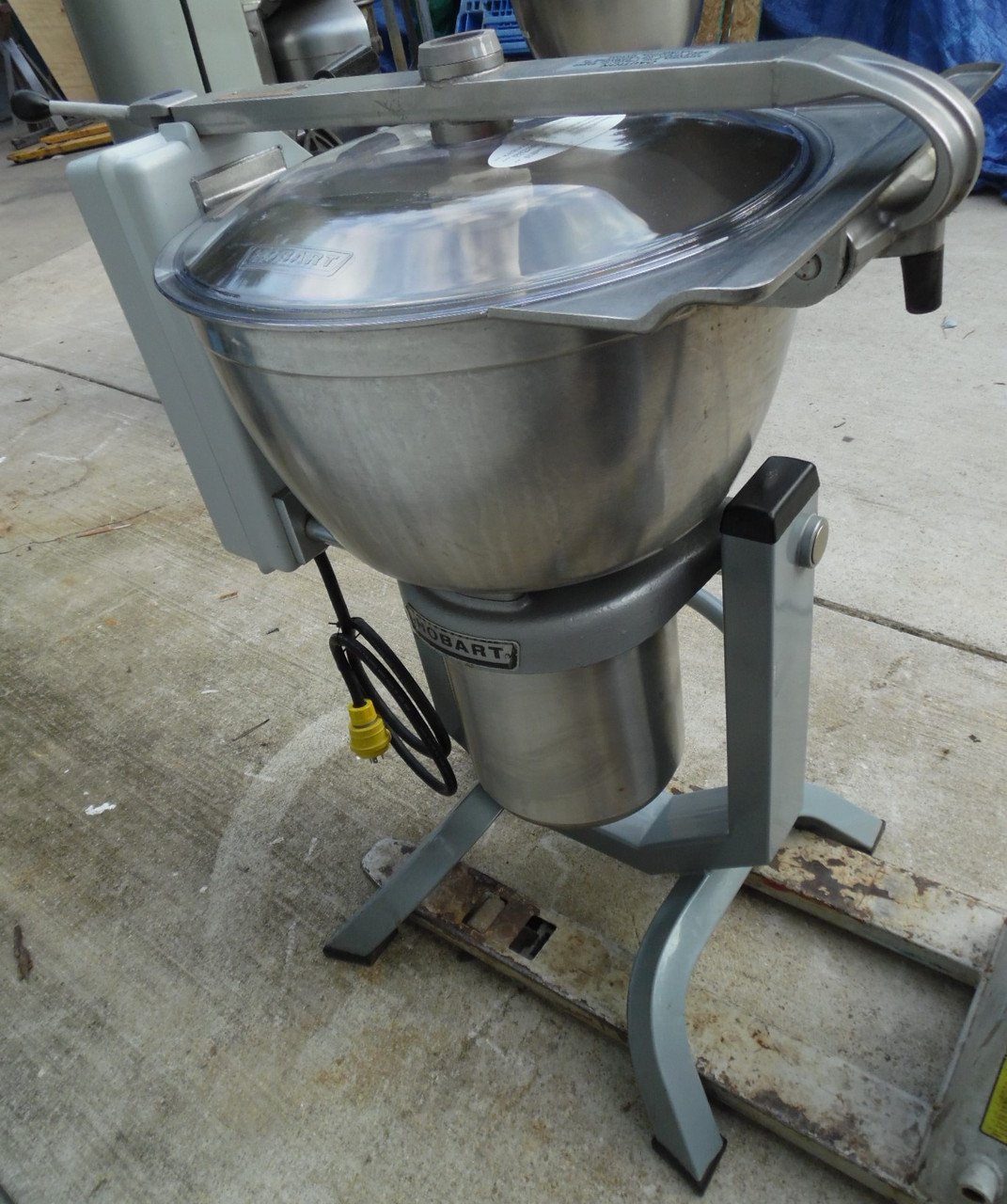 Very Clean  School Unused Hobart HCM450 Dough Vertical Mixer Cutter 3 PH