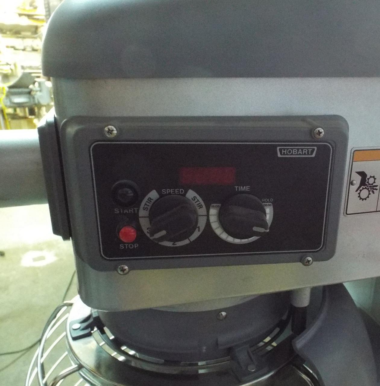2018 Hobart Legacy HL400 40Qt Dough Mixer 208-220V 1P