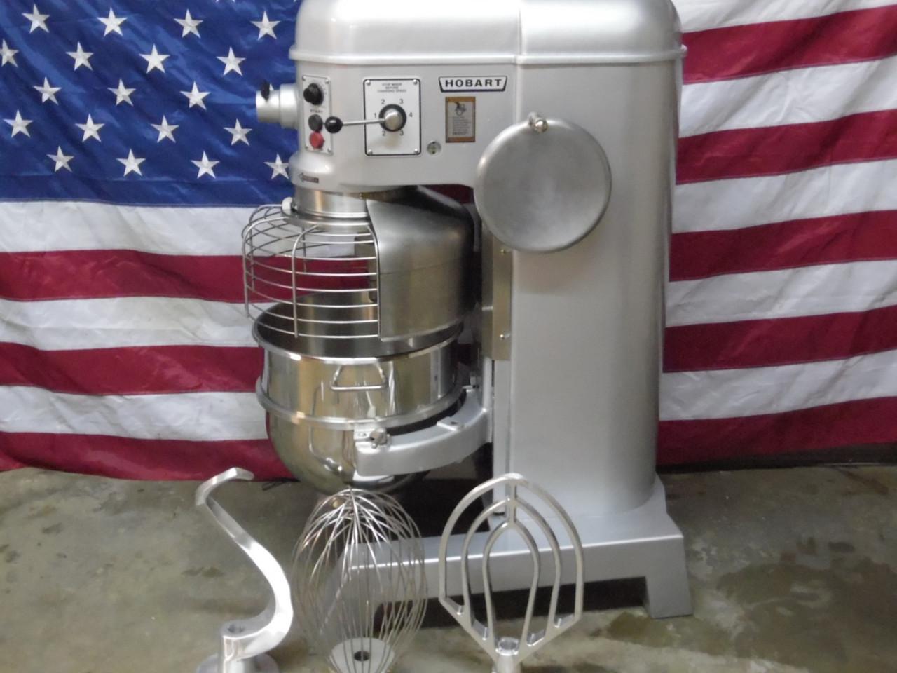 Hobart 60 Qt Dough Mixer H600T Single Phase