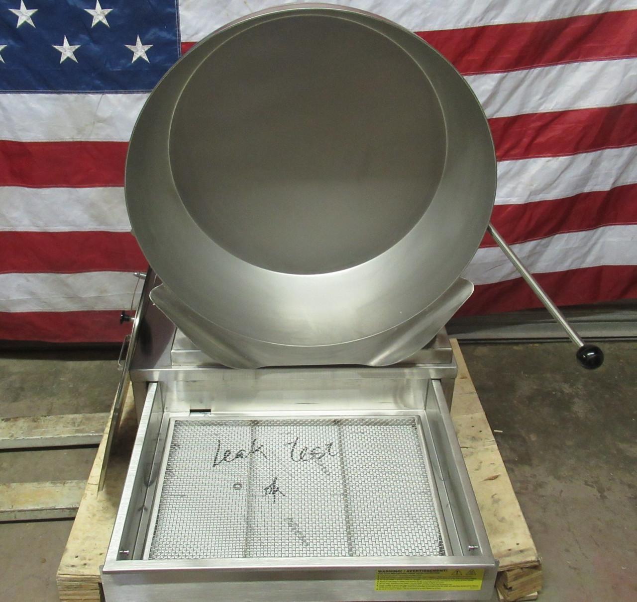 Cleveland 15 Gallon Electric Tilt Skillet Kettle SET-15 208V