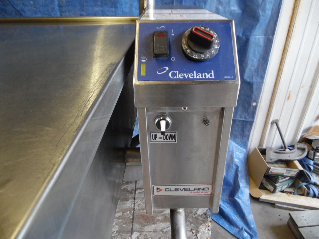 Cleveland SEL40T1 Electric Auto Tilt Braising Pan Skillet
