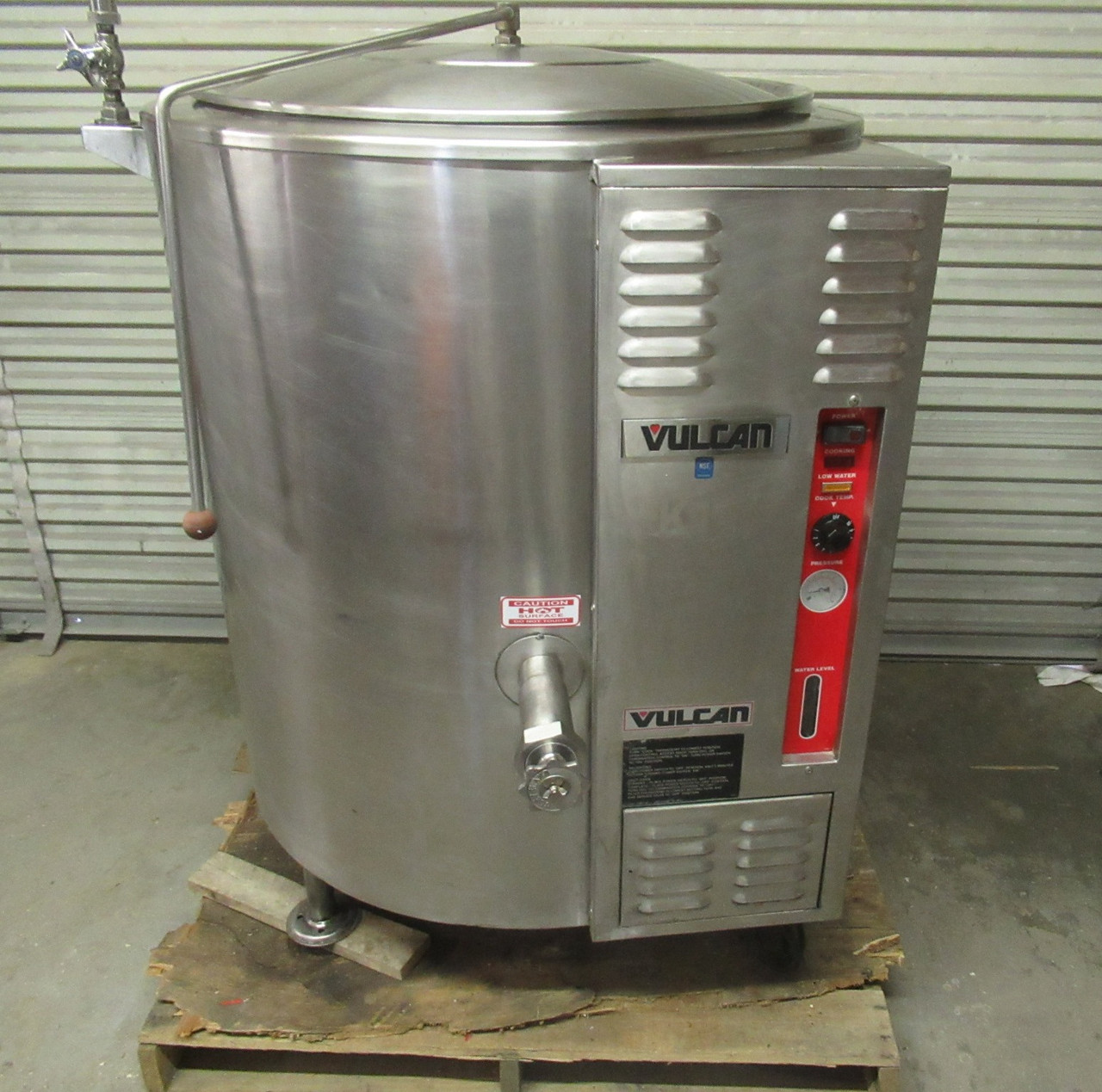Vulcan Hart VGL-60 Stationary Nat Gas Stationary Jacketed Steam Kettle
