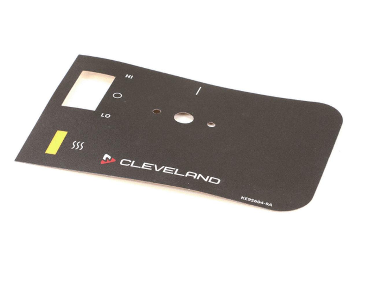 Cleveland Operating Label Overlay CLEKE95604-9