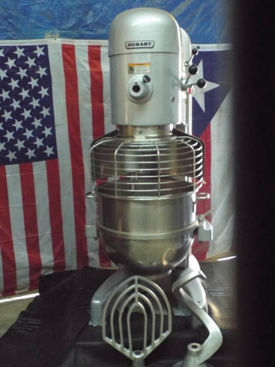 Hobart 80qt M802 Refurbished Dough Mixer 3HP 208-220V 3 Phase