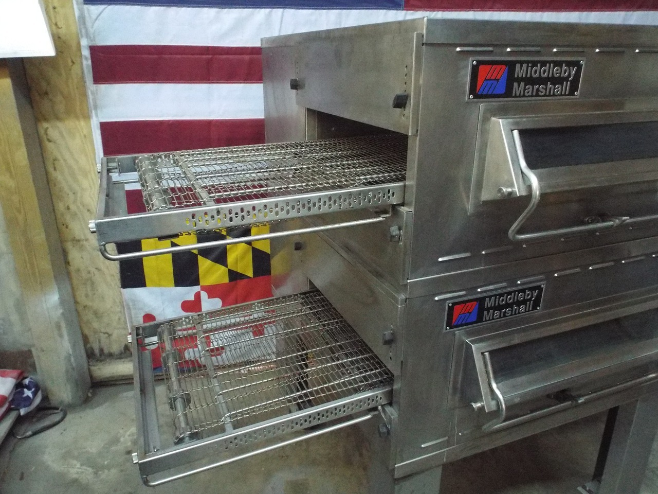 SOLD Middleby Marshall PS536 Double Deck Conveyor Ovens