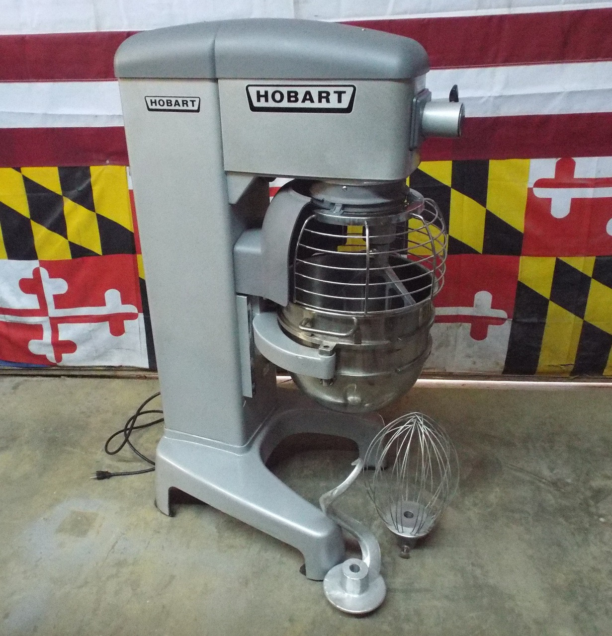 Hobart HL400 30 QT Dough Bakery Pizza  Mixer 208V 3 Phase