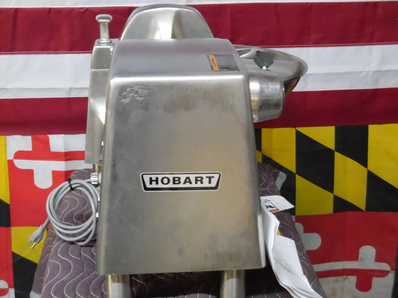 New Super Clean Hobart 18 Inch Buffalo Chopper 115V Model 84186