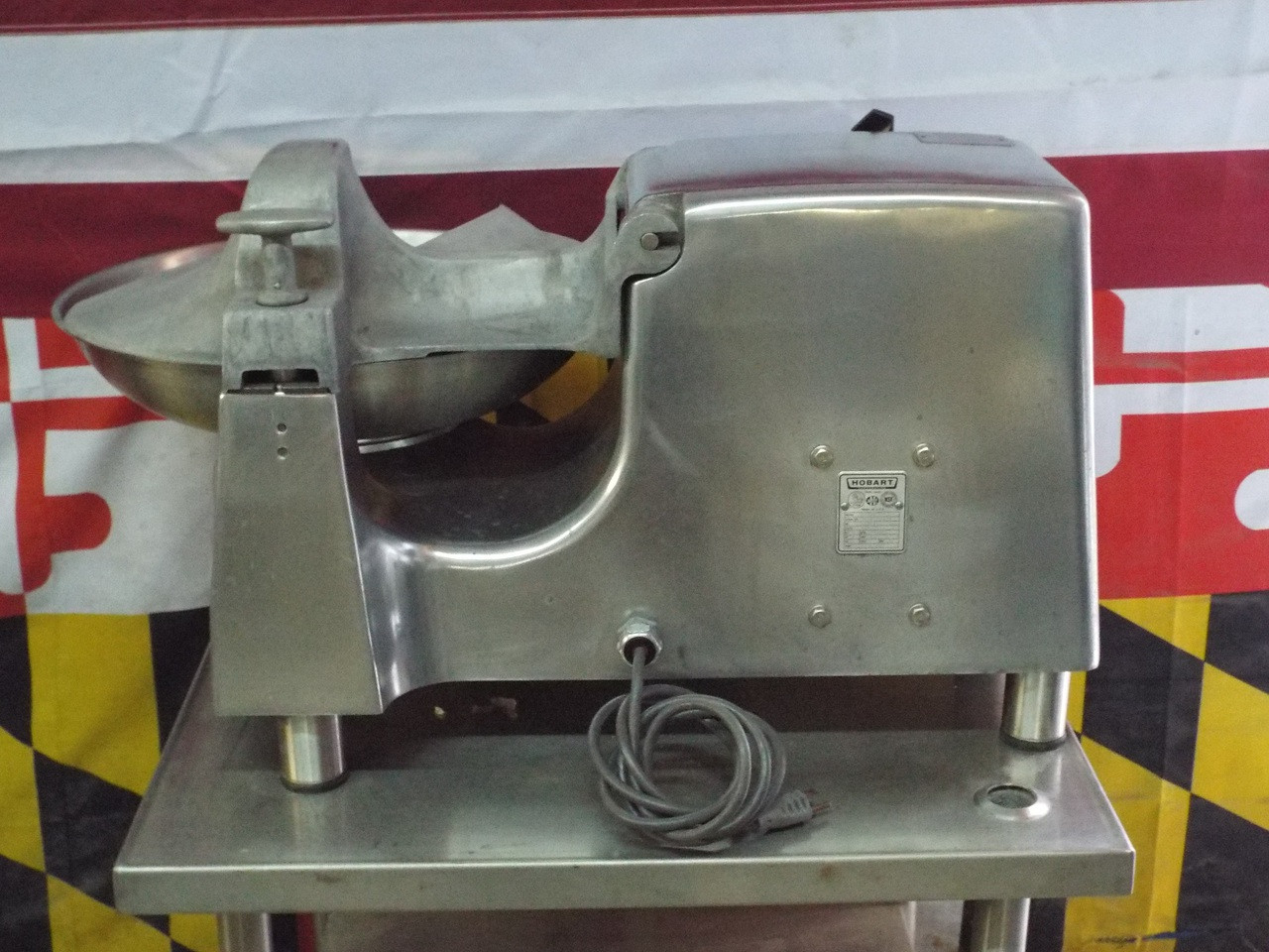 Used Hobart 18 Inch Buffalo Chopper with Pelican Meat Grinder