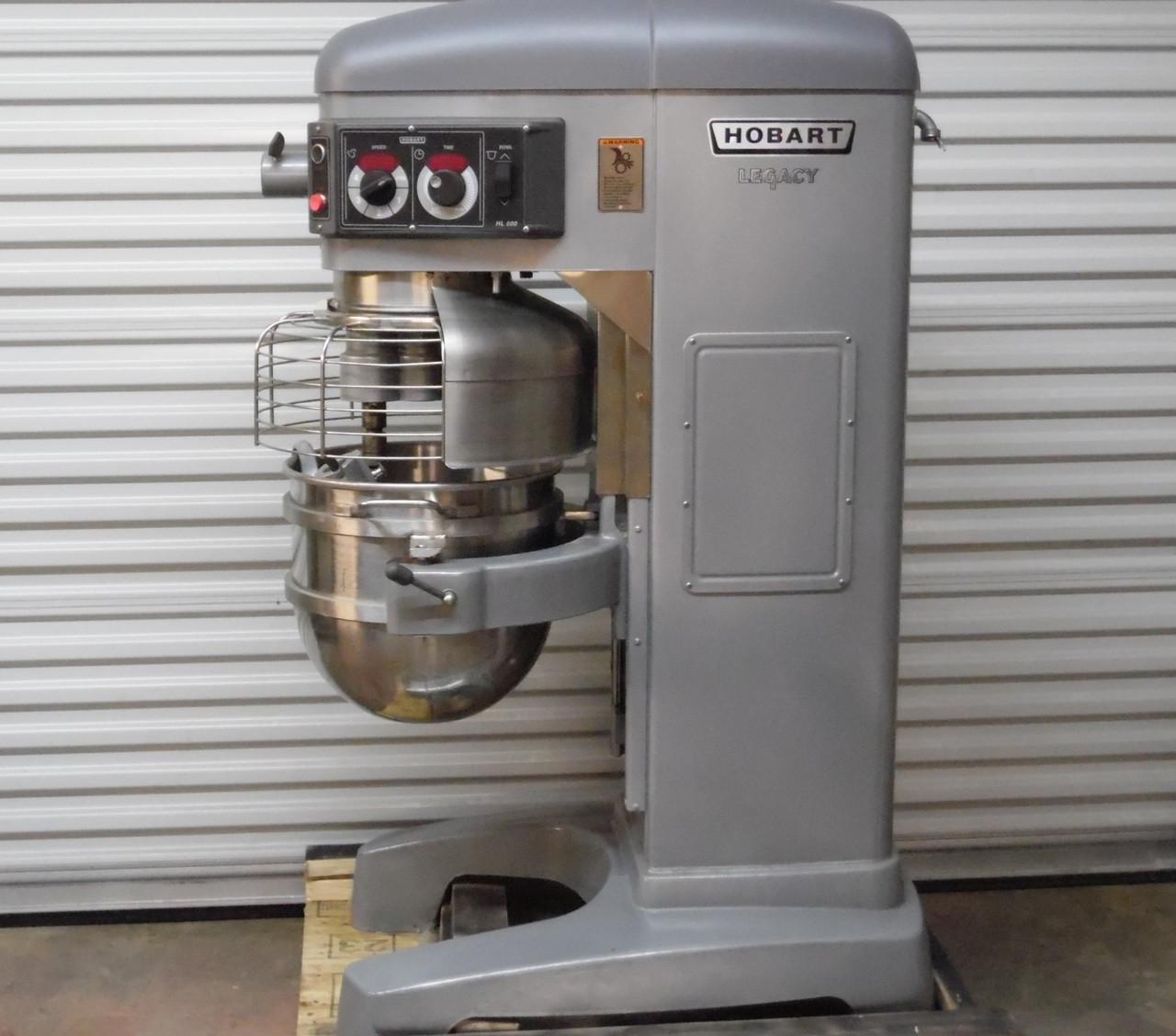 """""Sold"""" Excellent Like New  Hobart 60 Qt Legacy HL600 Dough Mixer"