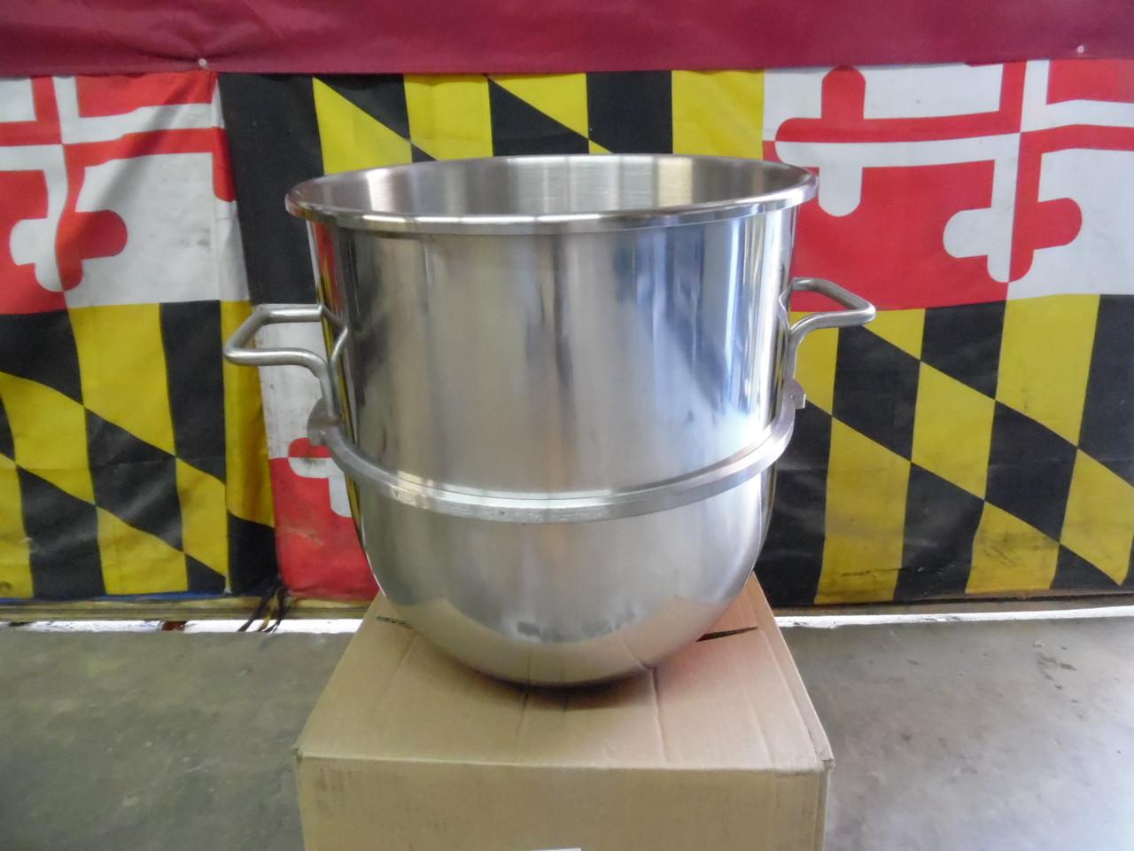 Hobart 40 Qt D340 Mixer Bowl and Attachments Kit