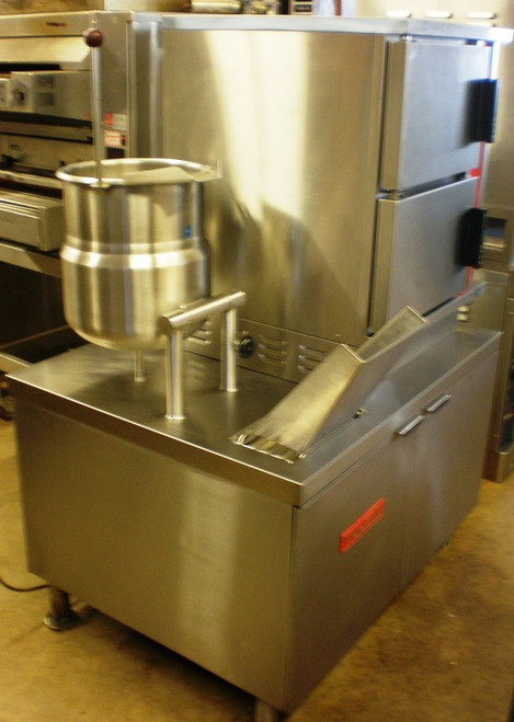 Vulcan VSX42ET Electric Double  Convection Steamer With Kettle