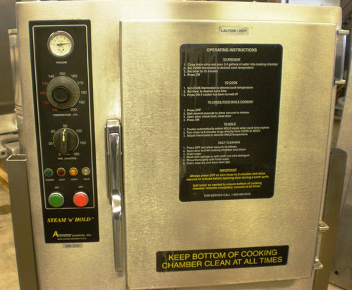 Steam N Hold 208 Steamer Oven With Stand by Accutemp