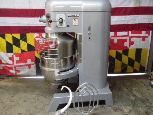 Hobart 60QT Mixer With Auto Bowl Lift and Safety Cage H600T 460V 3P
