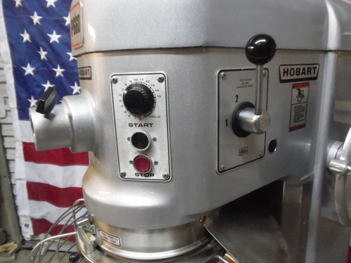 Hobart P660 60 QT W/Cage Dough Bakery Pizza Mixer 2 1/2 HP 3 Phase
