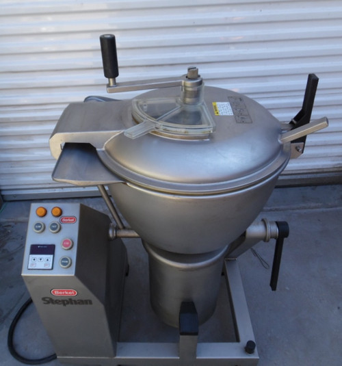Stainless Steel Stephan VCM44A 2 Speed Vertical Cutter Chopper Mixer Hobart