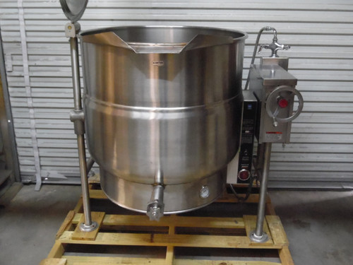 Market Forge Vulcan KELT-80  3 Ph 80 Gallon Electric Tilting Steam Jacketed Kettle